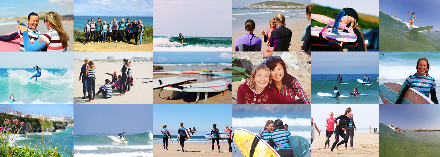 SURF BETTER WITH OUR WHITE TO GREEN IMPROVER WEEKENDS