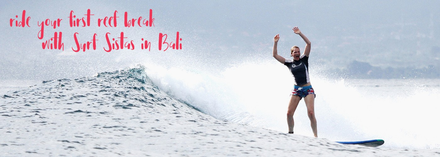 Surf Sistas Bali Surf & Yoga surfari - 10 day adventure in Bali & Nusa Lembongan, Indonesia - girls surf camp