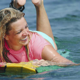 Read about Aussie Journalist Caty Price's Surf Sistas experience