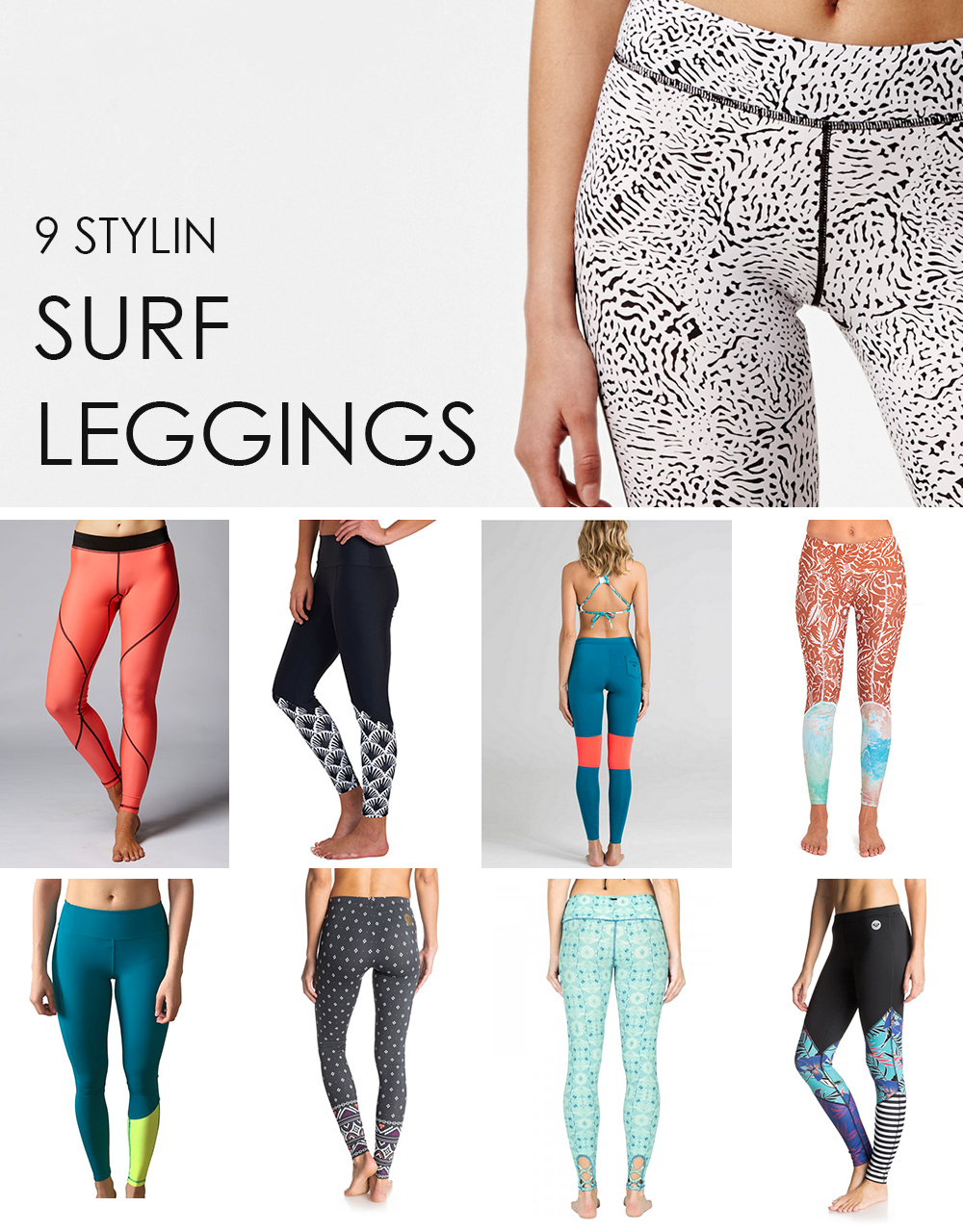 best surf leggings