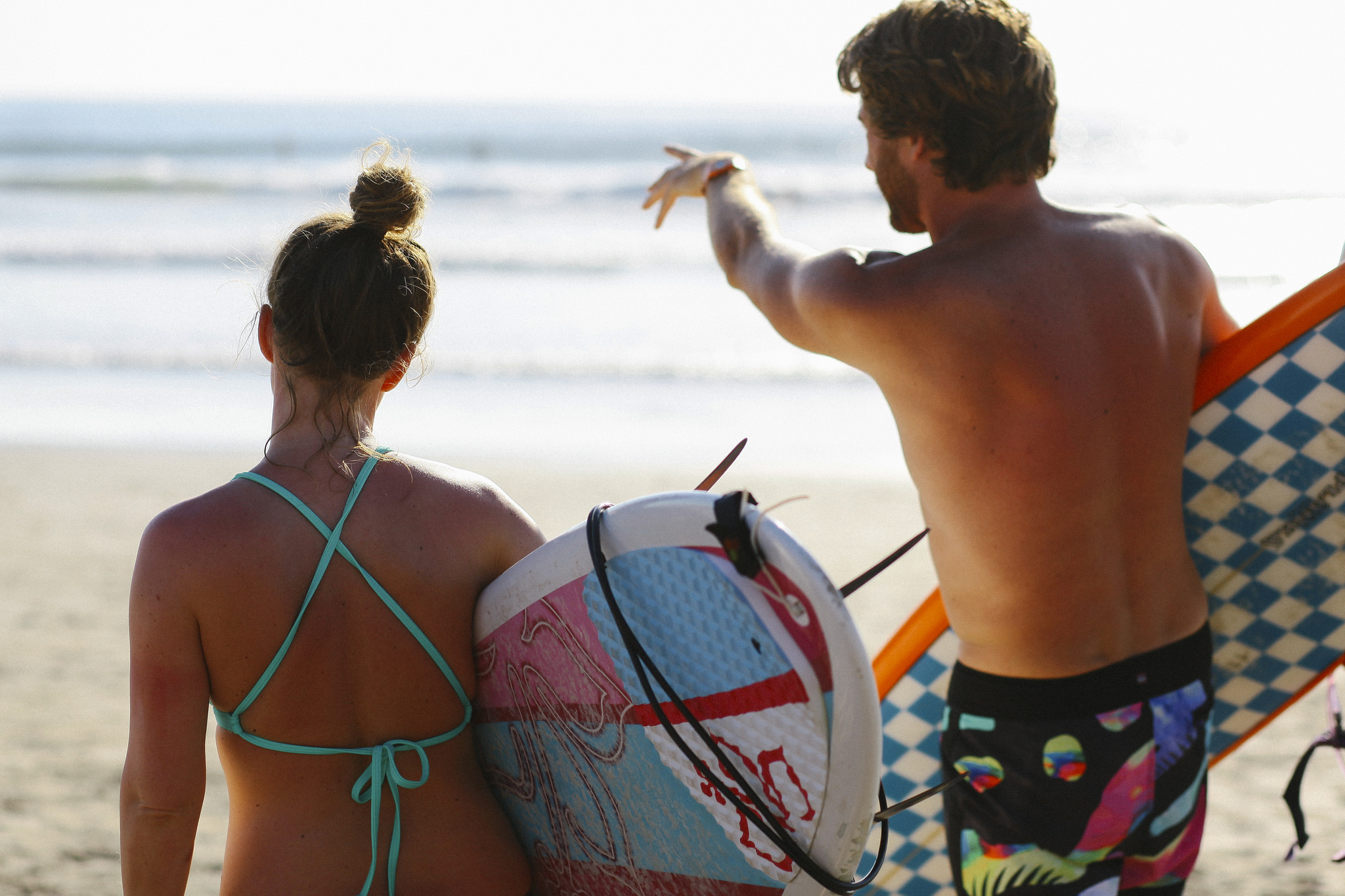 Experienced surf coaches
