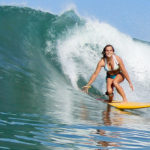 The best stay put surf bikinis for boobs